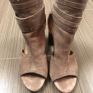 RAYE the label over the ankle bootie